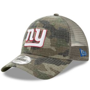 Adult New Era New York Giants 9FORTY Camo Snapback Cap