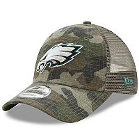 Adult New Era Philadelphia Eagles 9FORTY Camo Snapback Cap