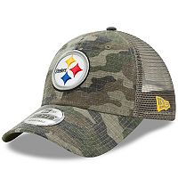 Adult New Era Pittsburgh Steelers 9FORTY Camo Snapback Cap