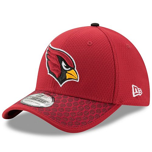 d243b0f6 Adult New Era Arizona Cardinals 39THIRTY Sideline Fitted Cap