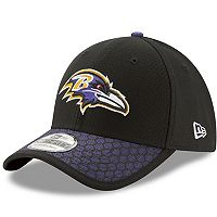 Adult New Era Baltimore Ravens 39THIRTY Sideline Fitted Cap