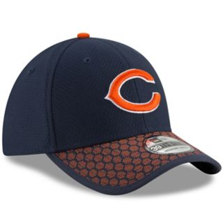 Adult New Era Chicago Bears 39THIRTY Sideline Fitted Cap