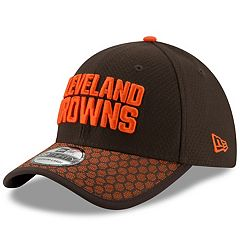 Adult New Era Cleveland Browns 39THIRTY Sideline Fitted Cap