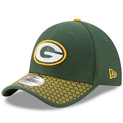 Adult New Era Green Bay Packers 39THIRTY Sideline Fitted Cap