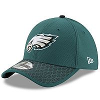 Adult New Era Philadelphia Eagles 39THIRTY Sideline Fitted Cap
