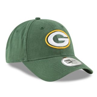 Adult New Era Green Bay Packers 49FORTY Core Flex-Fit Cap