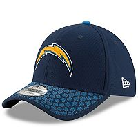 Adult New Era Los Angeles Chargers 39THIRTY Sideline Fitted Cap