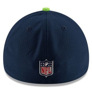 Adult New Era Seattle Seahawks 39THIRTY Sideline Fitted Cap