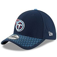 Adult New Era Tennessee Titans 39THIRTY Sideline Fitted Cap