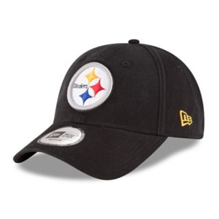 Adult New Era Pittsburgh Steelers 49FORTY Core Flex-Fit Cap