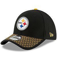 Adult New Era Pittsburgh Steelers 39THIRTY Sideline Fitted Cap