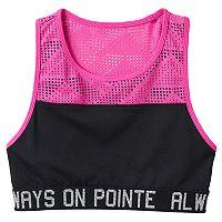 Girls 7-16 & Plus Size SO® Exposed Elastic Sports Bra