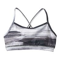 Girls 7-16 & Plus Size SO® Paint Stroke Criss-Cross Bralette
