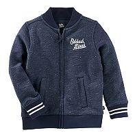 Baby Boy OshKosh B'gosh® Embroidered Logo Bomber Jacket