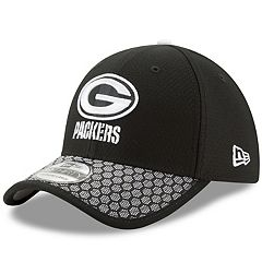 2ade346df79c13 Adult New Era Green Bay Packers 39THIRTY Sideline Flex-Fit Cap
