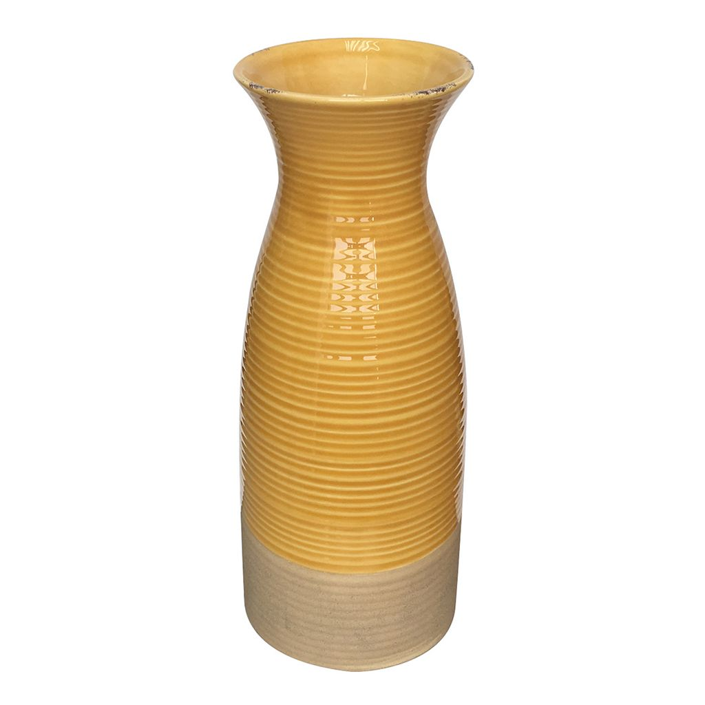 SONOMA Goods for Life™ Tall Yellow Vase