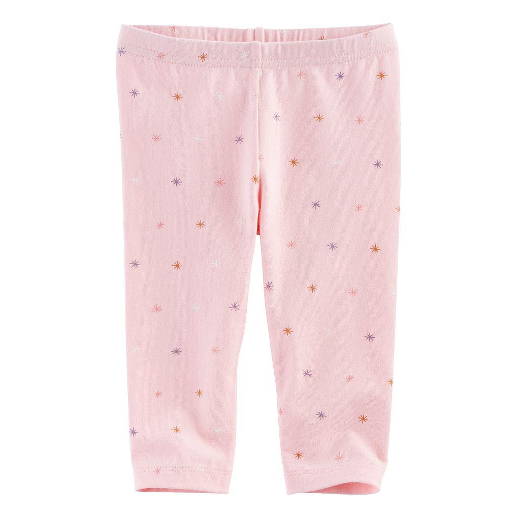 Baby Girl Jumping Beans® Pattern Leggings