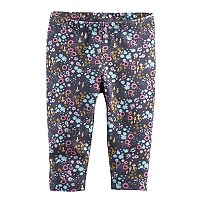 Baby Girl Jumping Beans® Floral Leggings