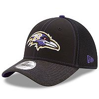 Adult New Era Baltimore Ravens 39THIRTY Shadow Burst Flex-Fit Cap
