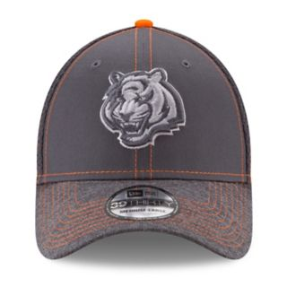 Adult New Era Cincinnati Bengals 39THIRTY Shadow Burst Flex-Fit Cap