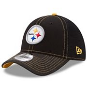 Adult New Era Pittsburgh Steelers 39THIRTY Shadow Burst Flex-Fit Cap