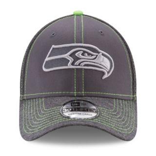 Adult New Era Seattle Seahawks 39THIRTY Shadow Burst Flex-Fit Cap