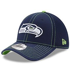 Adult New Era Seattle Seahawks 39THIRTY Shadow Burst Flex-Fit Cap