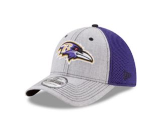 Adult New Era Baltimore Ravens 39THIRTY Heather Neo Fitted Cap