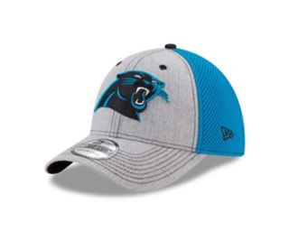 Adult New Era Carolina Panthers 39THIRTY Heather Neo Fitted Cap