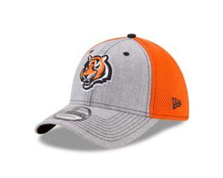 Adult New Era Cincinnati Bengals 39THIRTY Heather Neo Fitted Cap