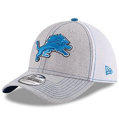 Adult New Era Detroit Lions 39THIRTY Heathered Neo Flex-Fit Cap