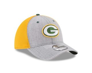 Adult New Era Green Bay Packers 39THIRTY Heather Neo Fitted Cap
