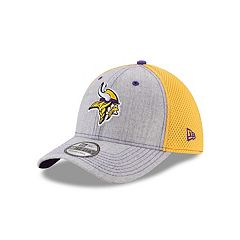 Adult New Era Minnesota Vikings 39THIRTY Heather Neo Fitted Cap