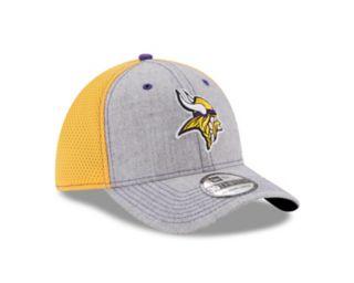 Adult New Era Minnesota Vikings 39THIRTY Heather Neo Fitted Cap