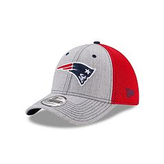 Adult New Era New England Patriots 39THIRTY Heather Neo Fitted Cap