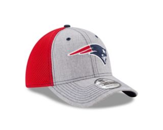 Adult New Era New EnglandPatriots 39THIRTY Heather Neo Fitted Cap