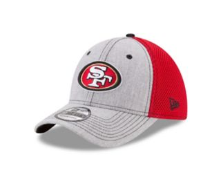 Adult New Era San Francisco 49ers 39THIRTY Heather Neo Fitted Cap