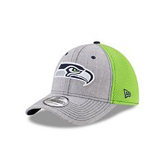 Adult New Era Seattle Seahawks 39THIRTY Heather Neo Fitted Cap
