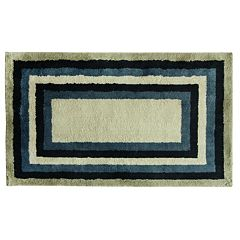 Bacova Cashion Concentric Tones Striped Rug