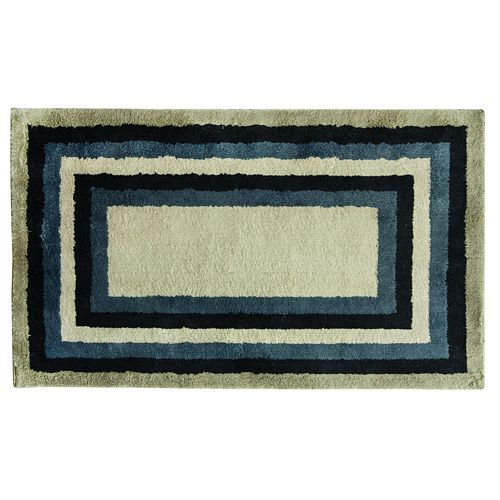 Bacova Cashion Concentric Tones Striped Rug