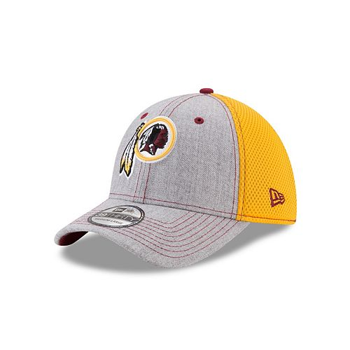 6fcc21b8c4cd6 ... official store adult new era washington redskins 39thirty heather neo  fitted cap d9436 4bbb8