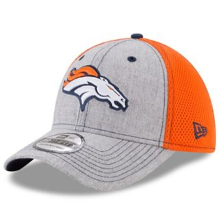 Adult New Era Denver Broncos 39THIRTY Heather Neo Fitted Cap