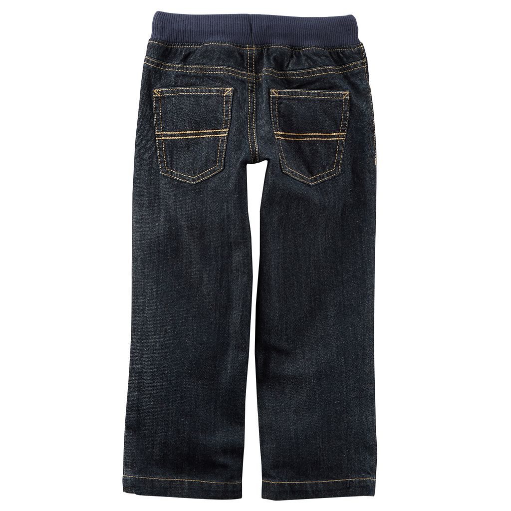 Toddler Boy Carter's Pull-On Jeans