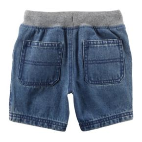 Toddler Boy Carter's Drawstring Denim Shorts