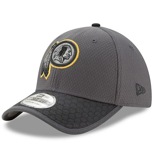 Adult New Era Washington Redskins 39THIRTY Sideline Flex-Fit Cap 8f8d6e265