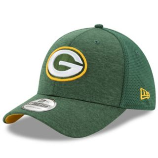 Adult New Era Green Bay Packers 39THIRTY Shadow Team 2 Cap