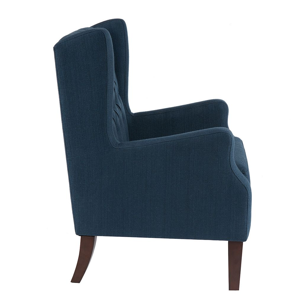 Madison Park Roan Tufted Wing Back Arm Chair