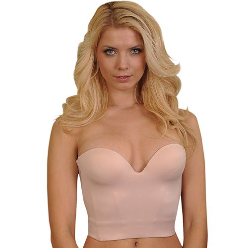 Carnival Bras: Invisible Low Plunge Longline Strapless Bra 206