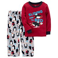 Toddler Boy Carter's 2-pc. Top & Pants Pajama Set