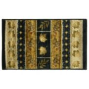 Bacova Studio Design Southview Leaf Striped Rug